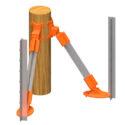 HLJWCK - LockJawz Wood Corner Kit