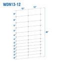 WDN13-12BB - Kiwi Fixed-Knot, 13/48/12