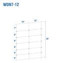 WDN7-12BB - Kiwi Fixed-Knot, 7/35/12