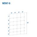 WDN7-6BB - Kiwi Fixed-Knot, 7/35/6