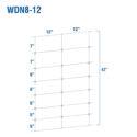 WDN8-12BB - Kiwi Fixed-Knot, 8/42/12