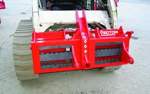 Vector Skid-Steer Mounting Plate